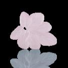 hangers 28mm roze blaadje