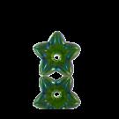 kunststofkralen 12mm groen bloem kleurnummer 5024