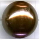 kunststof parels 20mm bruin rond kleurnummer 245
