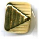 kunststofkralen 10mm goud konisch