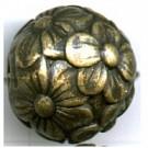 kunststofkralen 20mm oudgoud bloem
