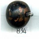 kunststofkralen 14mm koper rond