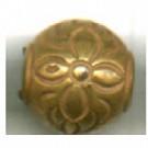 kunststofkralen 8mm goud rond 3