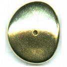 kunststofkralen 26mm goud rond