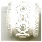 kunststofkralen 13mm wit cilinder
