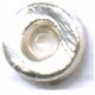 kunststofringen 6mm zilver rond