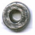 kunststofringen 6mm oudzilver rond 1
