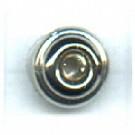 kunststofringen 6mm zilver rond kleurnummer 831