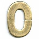 kunststofringen 35mm oudgoud ovaal kleurnummer 832