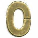 kunststofringen 4mm oudgoud ovaal kleurnummer 832