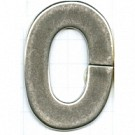 kunststofringen 4mm oudzilver ovaal kleurnummer 833