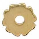 schijven 18mm goud rond metaal
