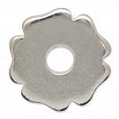 schijven 18mm zilver rond metaal