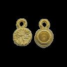 Kastjes 10mm goud rond