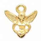 hangers - goud engel metaal