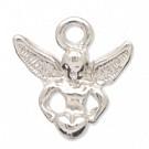 hangers - zilver engel metaal