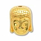 kralen 10mm goud boeddha tin