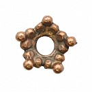 kapjes 7mm brons ster