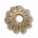 kapjes 9mm oudgoud rond 2