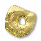 tinhangers 18mm goud vierkant tin