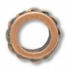 tinringen 10mm brons rond
