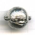 magneetsluitingen 16mm zilver rond
