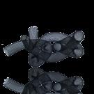 kunststof elastisch netdraad 16mm zwart