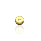 schijven 5mm goud rond metaal