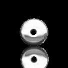 schijven 6mm zilver rond metaal