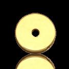 schijven 8mm goud rond metaal