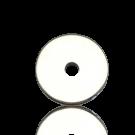 schijven 8mm zilver rond metaal