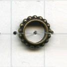 ringen 10mm oudgoud rond metaal