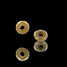 ringen 4mm goud rond metaal kleurnummer 737