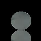 broches 25mm zilver rond metaal