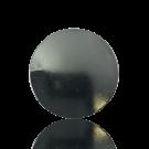 broches 36mm zilver rond metaal