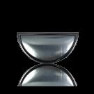 broches 60mm zwart ovaal metaal