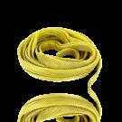 Metaal zeefdraad 10mm plat goud