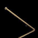nietstiften 42mm goud stift metaal