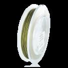 Nylon coated rijgdraad staaldraad stainless steel 0,5mm groen