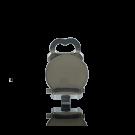 oorclip 10mm zilverkleur zonder oog