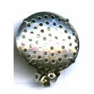 oorclips 23mm zilver rond metaal