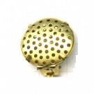 oorclips 19mm goud rond metaal