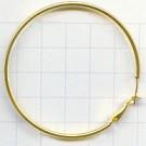 oorhangers 5mm goud rond metaal