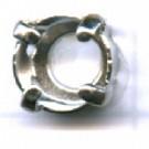 opnaaikastjes 7mm zilver rond kleurnummer 738