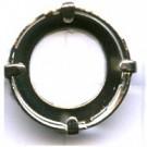 opnaaikastjes 16mm zilver rond