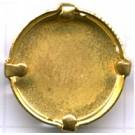 opnaaikastjes 20mm goud rond