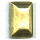 opnaaistenen 14mm oudgoud rechthoek