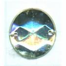 opnaaistenen 15mm kristal rond
