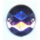 opnaaistenen 15mm paars rond