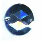opnaaistenen 15mm blauw rond